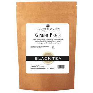 Ginger Peach Black