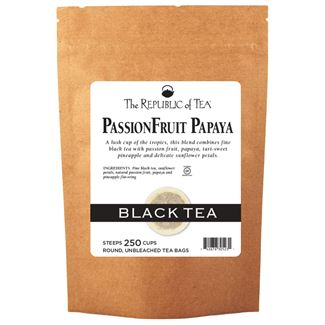 PassionFruit Papaya Black Tea Bags