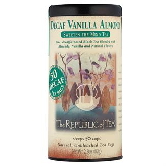 Decaf Vanilla Almond Black Tea Bags
