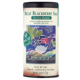 Decaf Blackberry Sage Black Tea Bags