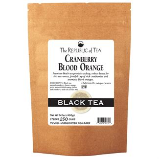 Cranberry Blood Orange Black Tea Bags