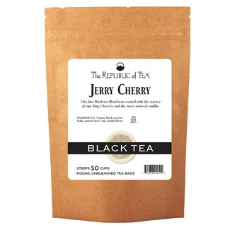 Jerry Cherry Black Tea Bags