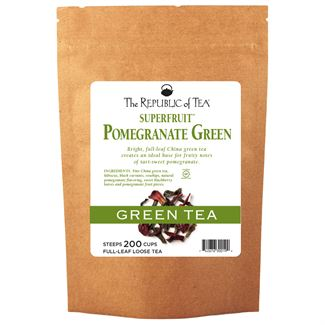 Pomegranate Green Tea Full-Leaf