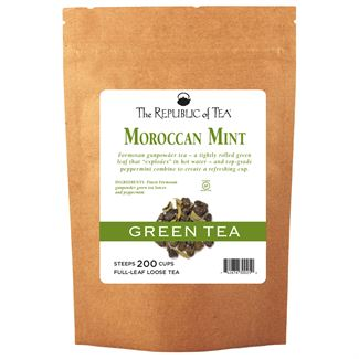 Moroccan Mint Green Full-Leaf