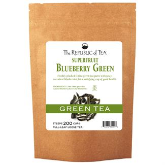 Blueberry Green Tea Full-Leaf