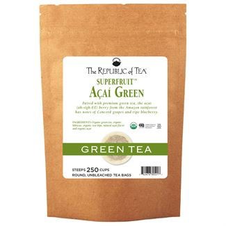 Organic Açaí Green Superfruit Tea Bags
