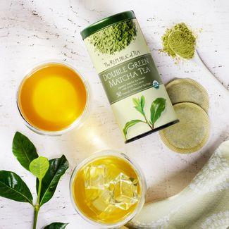 100 Organic Double Green Matcha Tea Bags