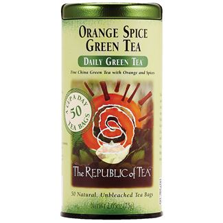 Orange Spice Green Tea Bags