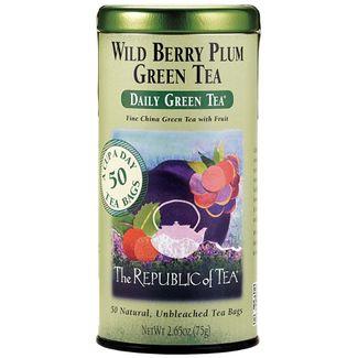 Wild Berry Plum Green Tea Bags