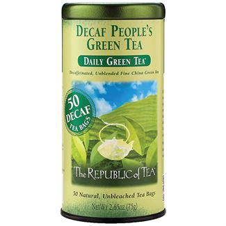 Decaf The People's Green Tea Bags