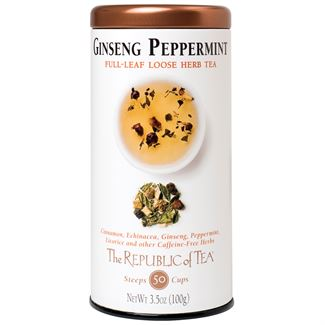 Ginseng Peppermint Herbal Full-Leaf