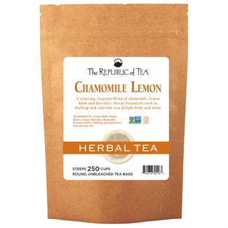 Chamomile Lemon Herbal Tea Bags