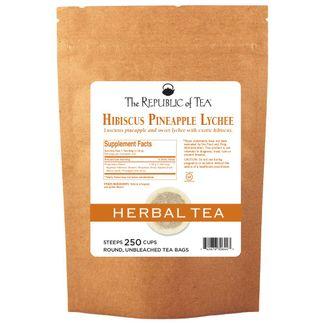 Pineapple Lychee Hibiscus Tea Bags