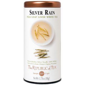 Silver Rain White Full-Leaf