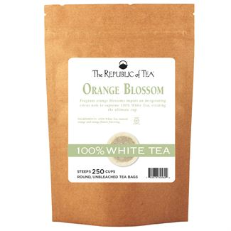 Orange Blossom 100% White Tea Bags