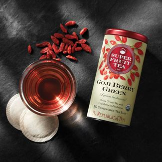 Organic Goji Berry Green Superfruit Tea Bags The Republic Of Tea