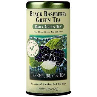 Black Raspberry Green Tea Bags