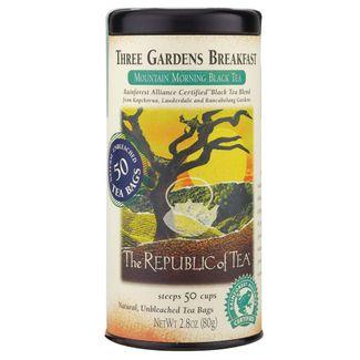 Three Gardens Breakfast Black Tea Bags