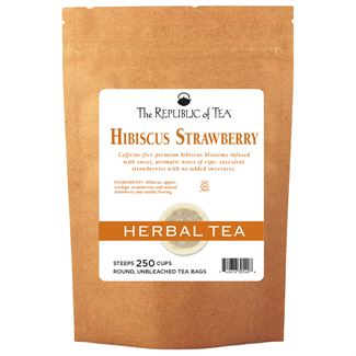 Strawberry Hibiscus Tea Bags
