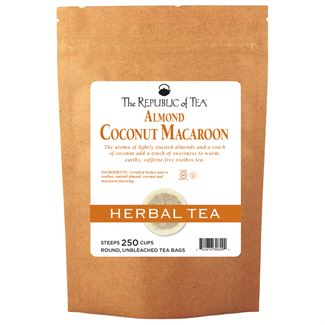 Almond Coconut Macaroon Red Tea