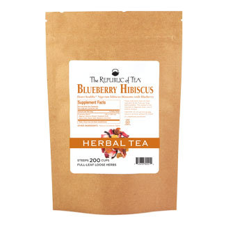 Blueberry Hibiscus Full-Leaf