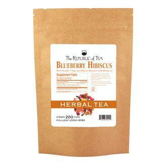 Blueberry Hibiscus Full-Leaf