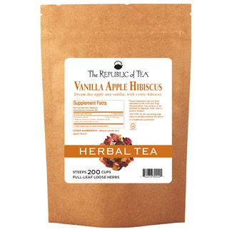 Hibiscus Vanilla Apple Full-Leaf Tea