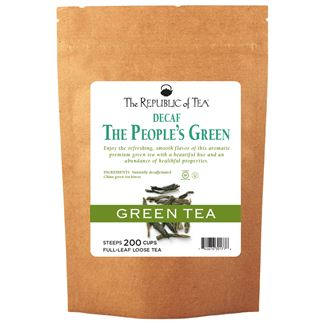 Decaf The People's Green Full-Leaf Tea