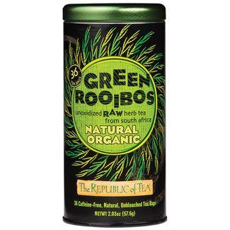 100% Organic Natural Green Rooibos Tea Bags