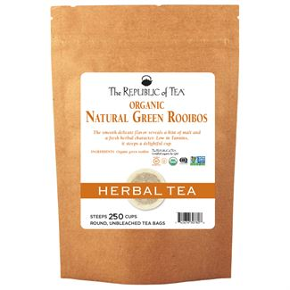 Natural Organic Raw Green Bush Tea Bags
