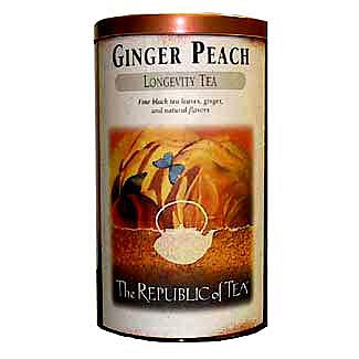 Ginger Peach Display Tin