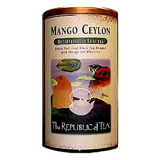 Mango Ceylon Decaf Display Tin
