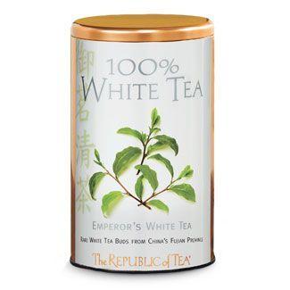 White Tea Display Tin