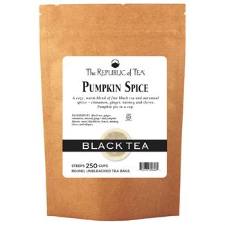 Pumpkin Spice Black Tea Bags