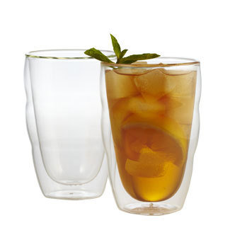 Pilatus Stackable Double Wall Glasses (Set of 2)