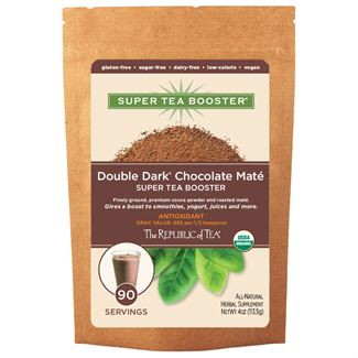 Organic Double Dark Chocolate Maté Super Tea Booster®