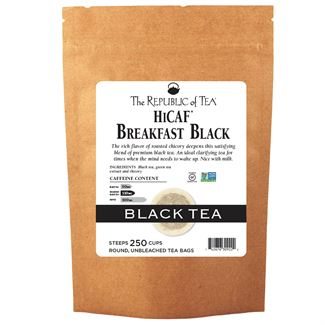 Breakfast Black HiCaf™ Tea Bags