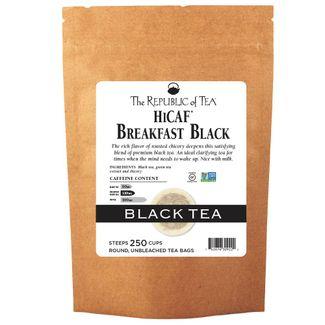 Breakfast Black HiCaf™ Tea Bags
