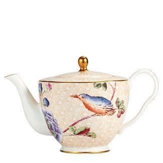 Flora and Fauna Teapot