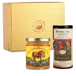Chai Tea Bag and Honey Flight