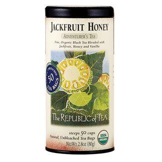 Organic Jackfruit Honey Black Tea Bags