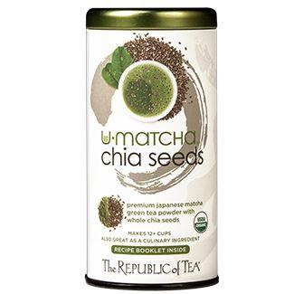 Organic U•Matcha® Chia Seeds