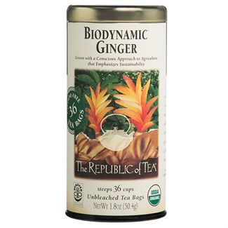 Biodynamic® Ginger Tea Bags