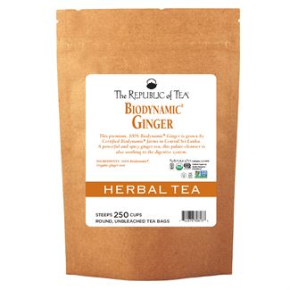Biodynamic® Ginger Tea Bags