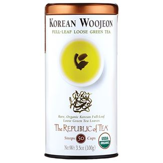 Organic Korean Woojeon Green Full-Leaf Tea