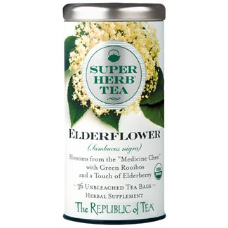 Organic Elderflower SuperHerb® Tea Bags