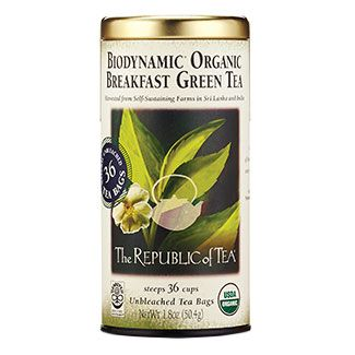 Biodynamic® Breakfast Green Tea Bags