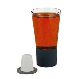 Self-Chilling Ice Tea Glass Set