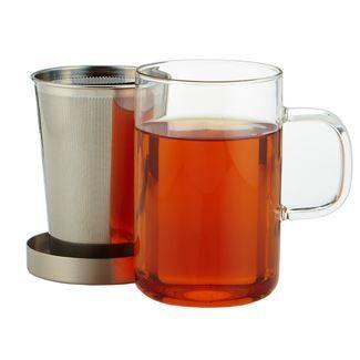 Glass Mug and Infuser