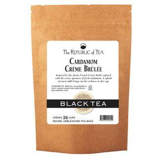 Cardamom Creme Brulee Black Tea Bags
